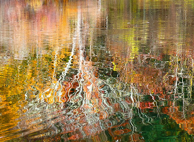 Autumn reflections on Herring Pond Plymouth, Ma